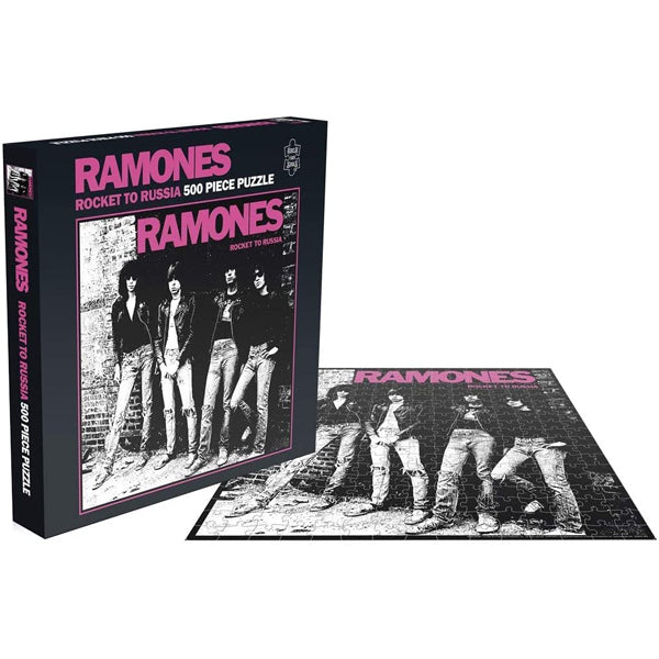 Ramones - Rocket To Russia 500 Piece Jigsaw Puzzle