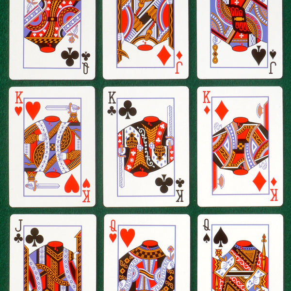 Revolutionary Playing Cards Present Indicative