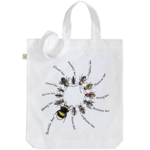 Ring of Bees Tote Bag