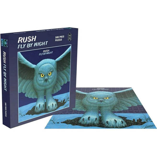 Rush - Fly By Night 500 Piece Jigsaw Puzzle