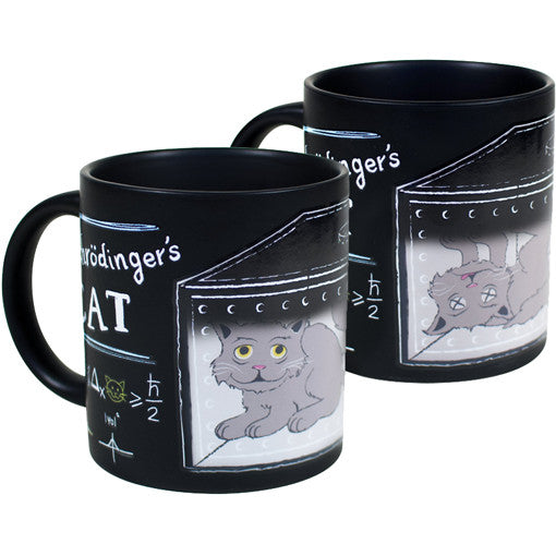 Schrödinger's Cat Mug Set