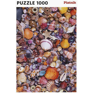 Sea Shells 1000 Piece Jigsaw Puzzle