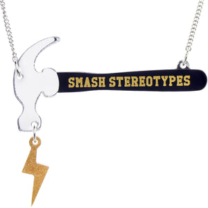 Smash Stereotypes Necklace