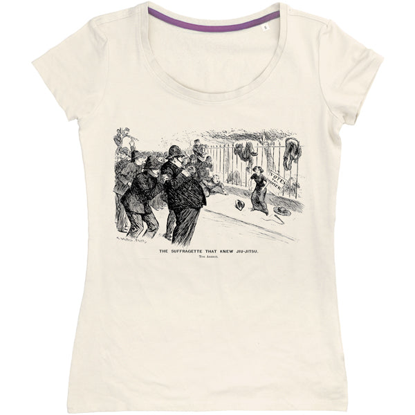Suffragette Who Knew Jiu-jitsu Women's T-shirt