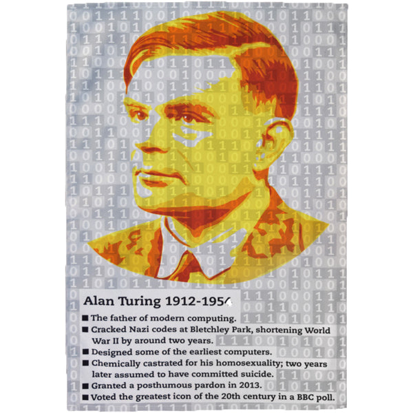 Alan Turing Tea Towel
