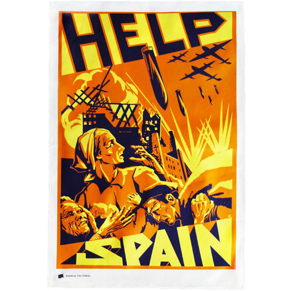 Spanish Civil War Tea Towel