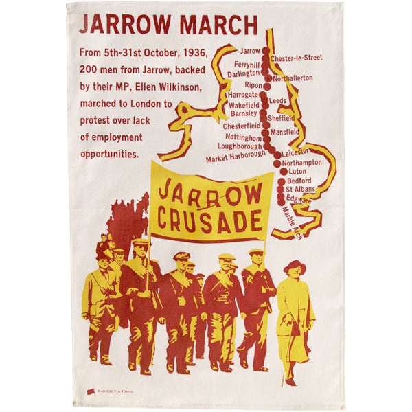Jarrow March Tea Towel