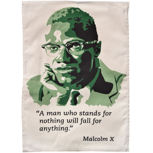 Malcolm X Tea Towel