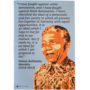 Nelson Mandela Tea Towel