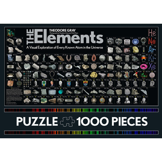 The elements 1000 piece jigsaw puzzle present indicative the elements 1000 piece jigsaw puzzle urtaz Gallery
