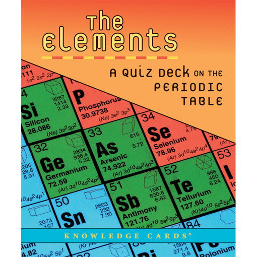 The Elements Quiz Deck