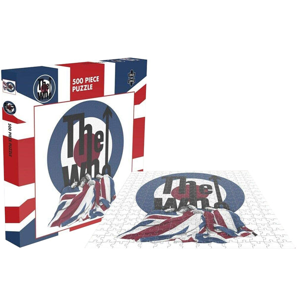 The Who - The Kids Are Alright 500 Piece Jigsaw Puzzle