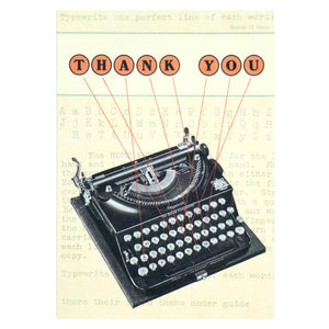 Typewriter Thank You Notelets