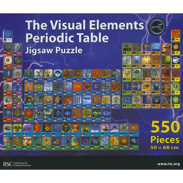 Visual Elements 550-piece Jigsaw