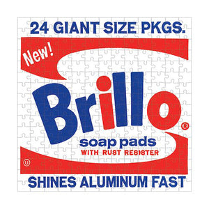 Andy Warhol 'Brillo' 208-piece Jigsaw Puzzle
