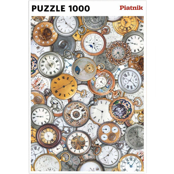Watches 1000 Piece Jigsaw Puzzle