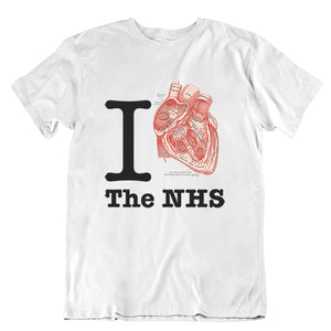 I Heart NHS Unisex T-shirt