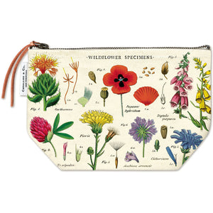Wildflower Specimens Vintage Pouch