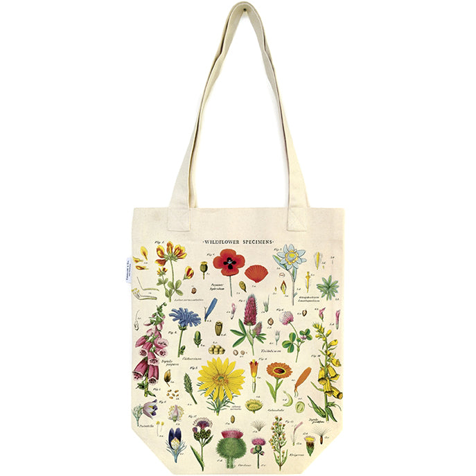Wildflower Specimens Tote