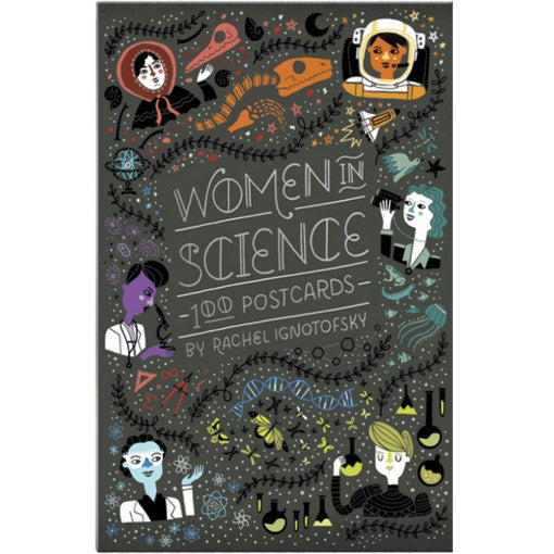 Women In Science 100 Postcards