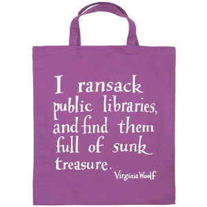 Woolf Library Bag