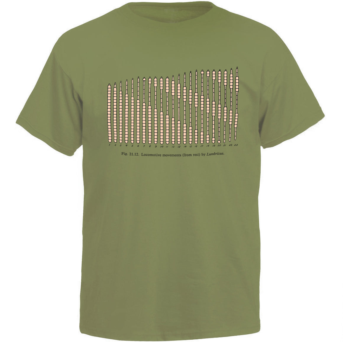 Worm Locomotion Unisex T-shirt