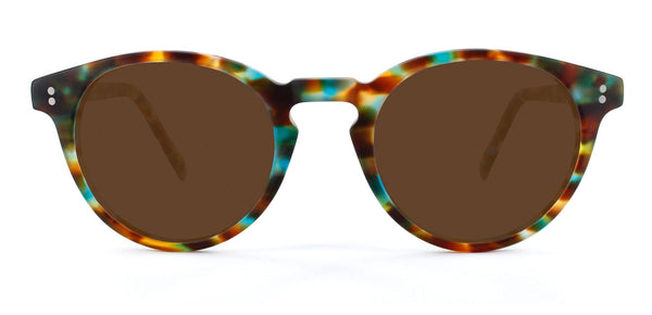 Matte Ocean Tortoise with Bronze Lenses