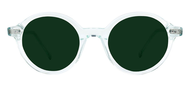 Mint Crystal with Classic Green Lenses