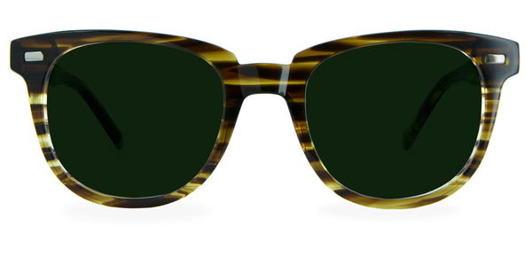 Olive Stripe with Classic Green Lenses