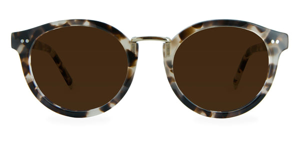 Vanilla Tortoise with Bronze Lenses