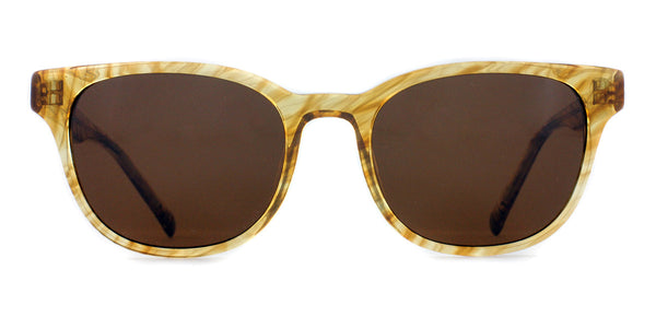 Gold Crystal with Bronze Lenses