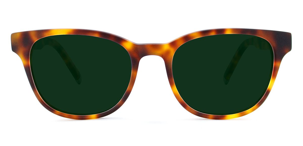 Matte Medium Havana with Classic Green Lenses