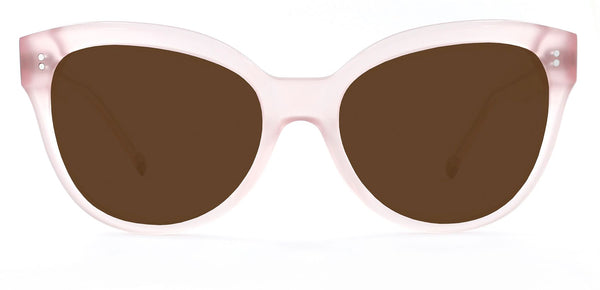 Pale Pink with Bronze Lenses