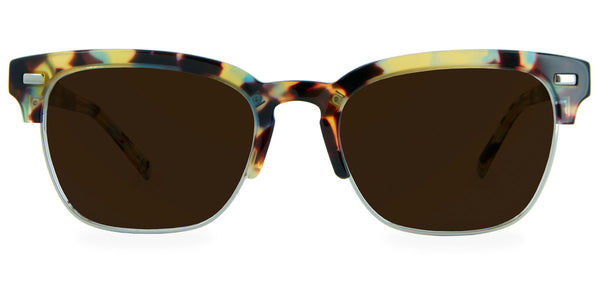 Walnut Tortoise with Bronze Lenses