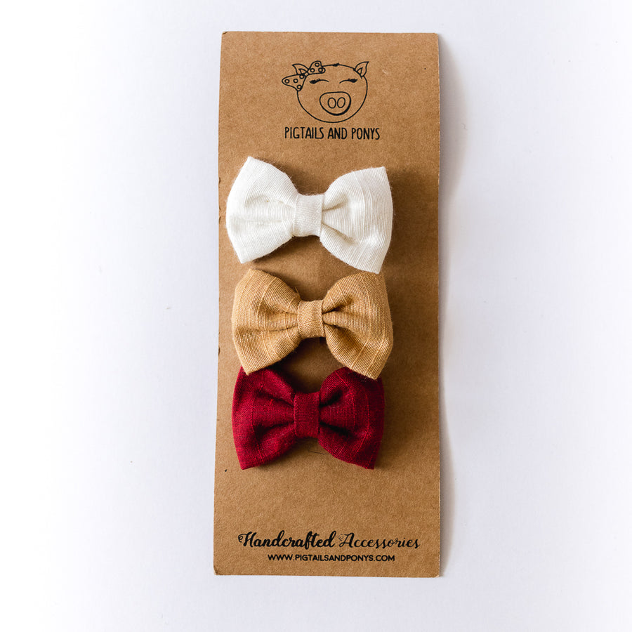 Freya Bow Clips