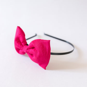 Alice Pink bow