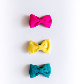 Marguerite Bow Clips