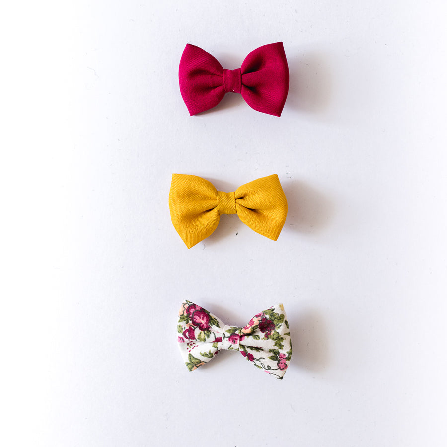 Cassia Bow Clips