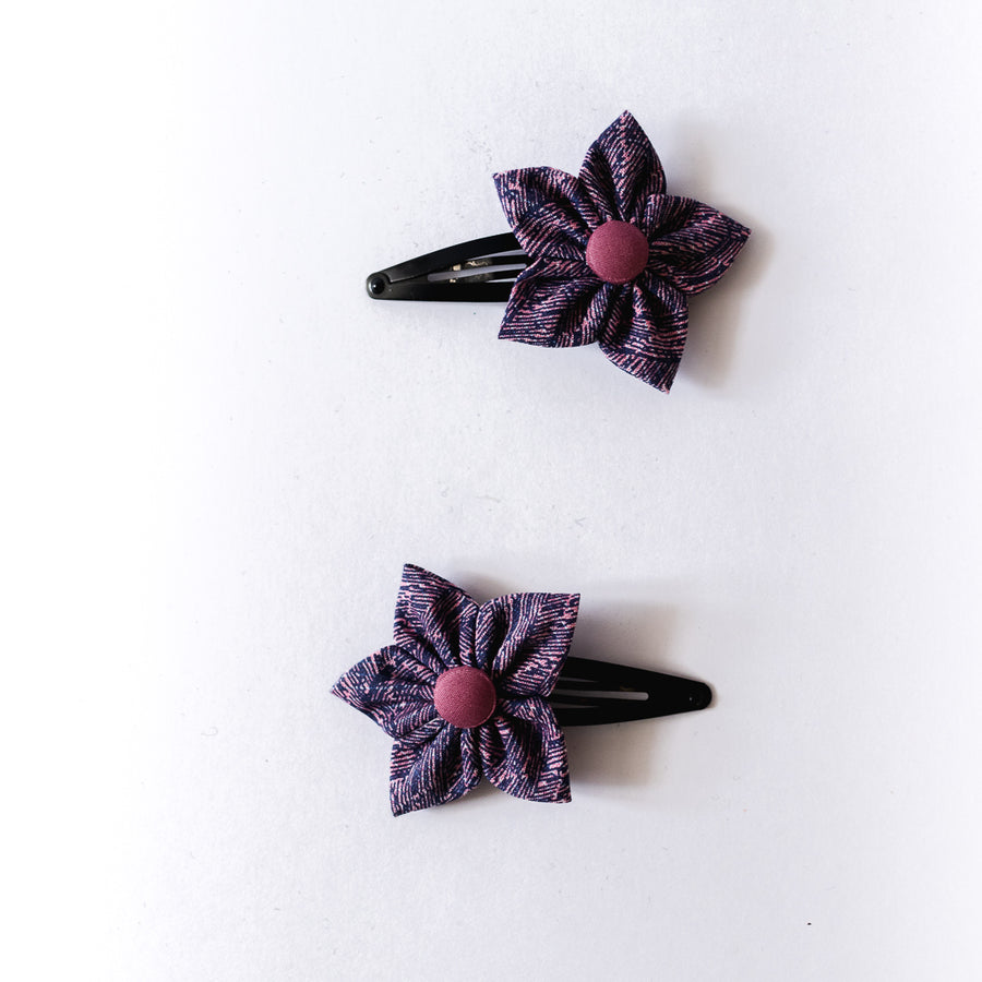 Callie Flower Clips