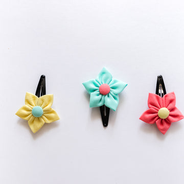 Josie Flower Clips