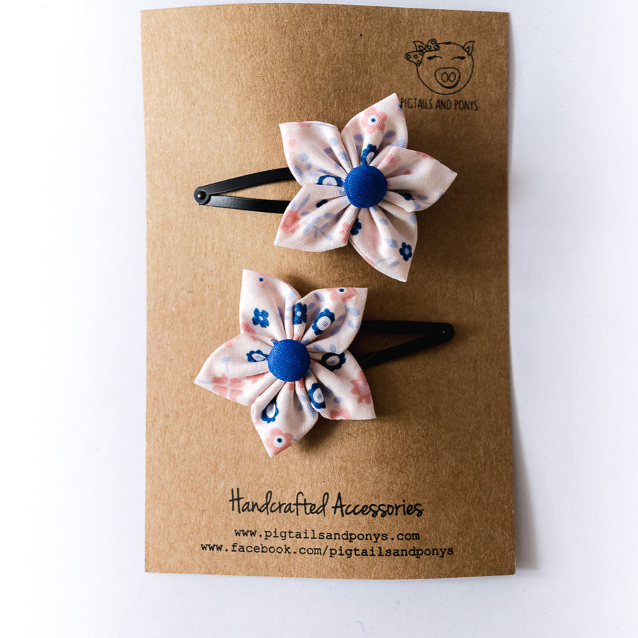 Thea Flower Clips