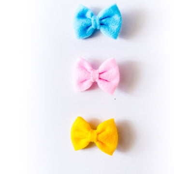 Zinnia Bow Clips