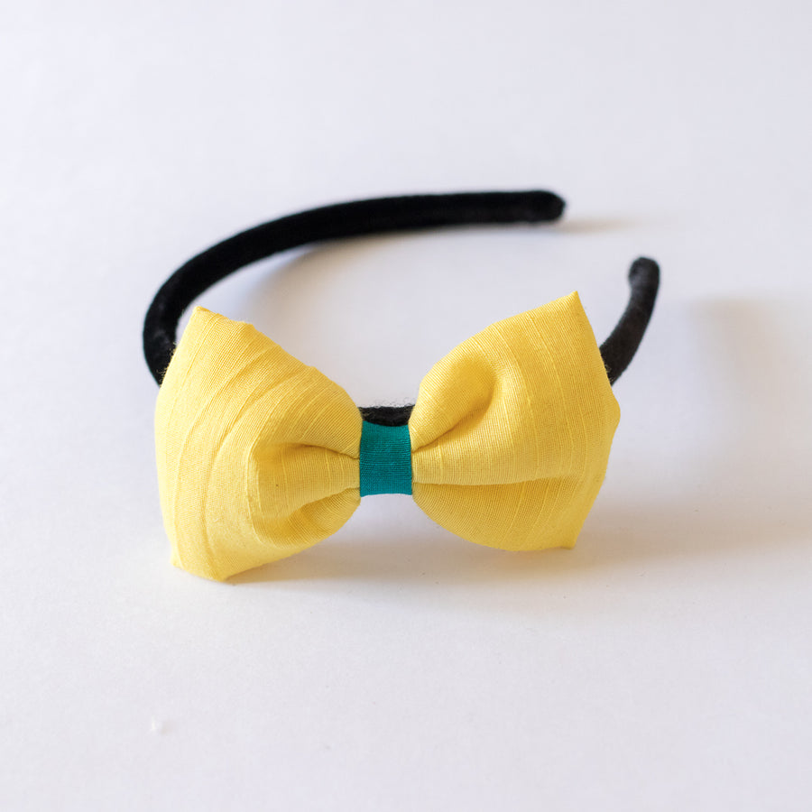 Athena Yellow Bow