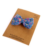 Blue Bloomer Hair Tie - Pigtails and Ponys  - 2