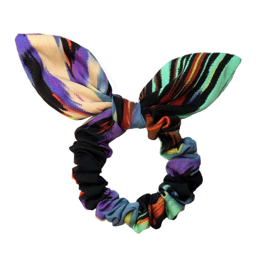 Comet Bow Scrunchie - Pigtails and Ponys