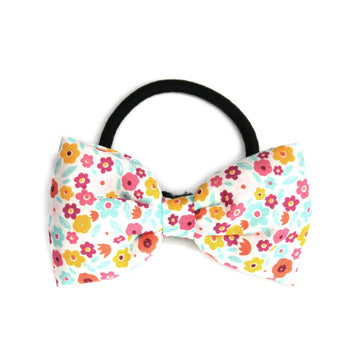 Spring Posies Hair Tie - Pigtails and Ponys  - 1