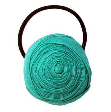 Teal Paradise Hair Tie - Pigtails and Ponys