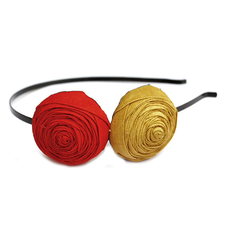 Two to Tango Headband - Pigtails and Ponys - Headband - Handcrafted Accessories