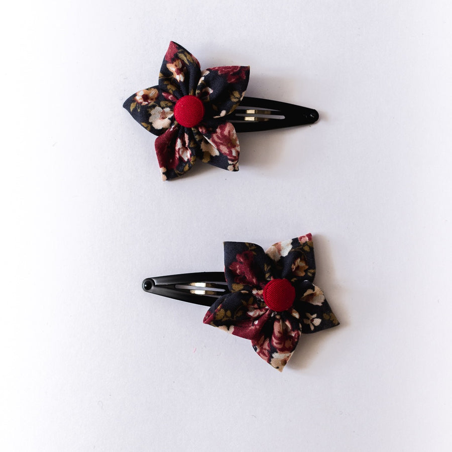 Arya Flower Clips