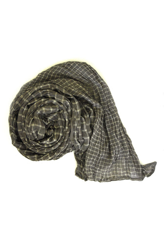 Kashish Blockprinted Scarf - Pigtails and Ponys  - 1